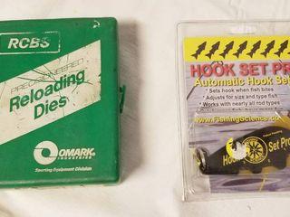Reloading Dies   6mm   a Hook Set Pro