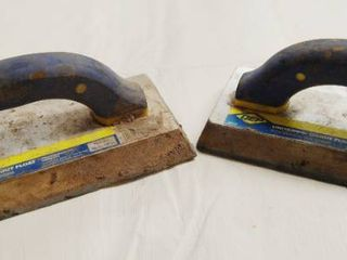 lot of 2 Universal Grout Floats