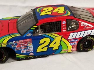 Collectible w  Signature   May 24  2000  Die Cast Race Car    24   Du Pont  Stainmaster Carpet