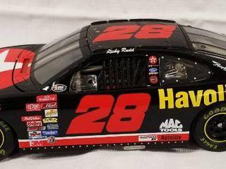 Collectible Die Cast Race Car  28  Havoline