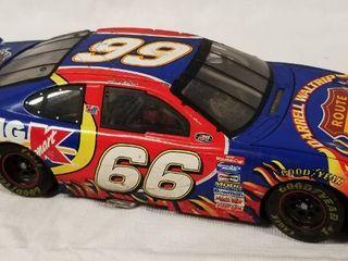 Collectible Die Cast Race Car  66 Victory Tour 2000   Route 66  Big K Mart  Darrell Waltrip