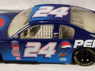 Collectible Die Cast Race Car   24   Pepsi