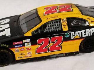 Collectible Die Cast Race Car    22   CAT Financial   Caterpillar