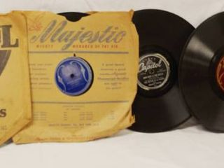 lot of 5  Vintage 78 rpm Records  Columbia   Thinking of You  Musicraft   Besame Mucho  Capitol   Now Deep is The Ocean  and More