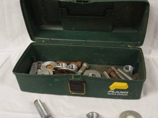 Plano Box  w  Bolts  Nuts  and Washers