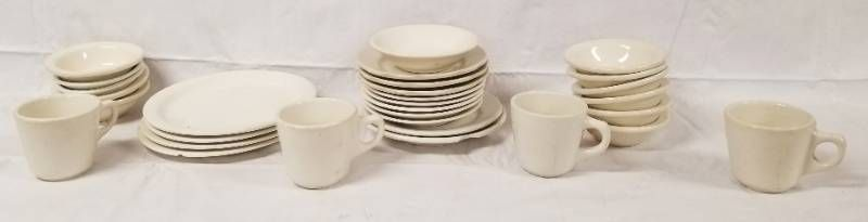 lot of Dishes  Coffee Cups  Bowls  and Saucers