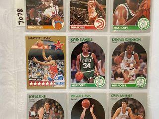 Vintage 1990 NBA Hoops Basketball Cards