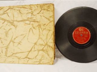 lot of Vintage 78 rpm Records  in Album   Columbia Records See Photos
