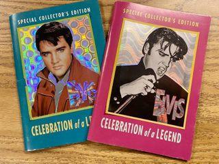 Elvis Presley  lot of 2  Special Collector s Edition   Elvis  Celebration of a legend
