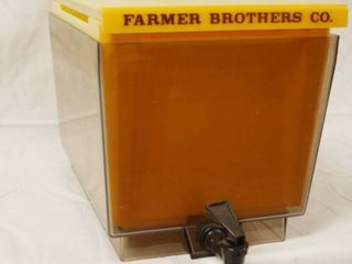 Farmer Brothers Co  Brewmatic Co  10  Tall x 12  Wide  Great for Tea  lemonade  etc