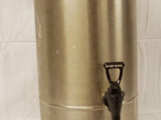 Ice Stainless Steal Tea Container  D017753  w  lid