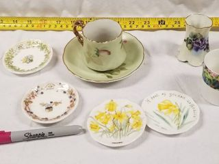 lot of Beautiful Vintage Cups and Saucers   lefton China and Others  See Photos
