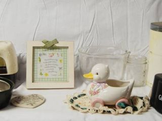 Kitchen Ware   Juicer  Duck Sponge Holder  Bowls and More  See Photos