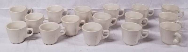 lot of 16 Coffee Cups