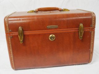 Vintage Samsonite Overnight Hand Carry Suitcase  Hard Shell  13 long x 7 wide x 9 tall