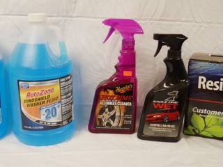 Auto Items   2 Auto Zone  Windshield Washer Fluid  Waxing for Vehicles