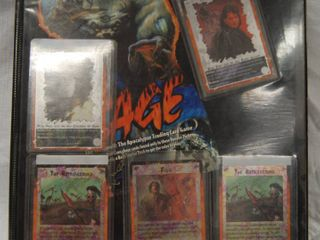 Collection of  limited Edition for Rage Collector Cards  22 pages  Front and Back and More Than Just 2 Cards in a Slot