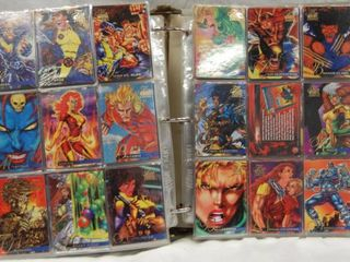 Collection of  1994 Fleer Flair   1995 Fleer Flair CARDS 24 pages  Front and Back and More Than Just 2 Cards in a Slot