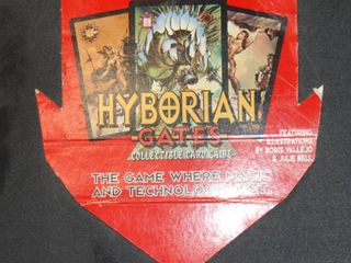 Collection of  Hyborian Gates Collector CARDS  50 Pages