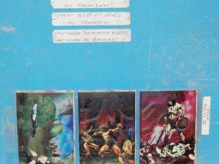 Album of  1994 Conan II  1994 Best of Boris  1994 Skyboy  DC Master Series  Collector CARDS