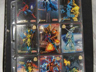 Album of  1994   Marvel Universe    1994  Marvel Masterpiece Collector CARDS