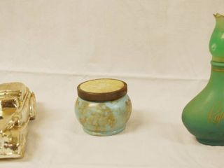 lot of 3 Vintage Collectible Avon Bottles