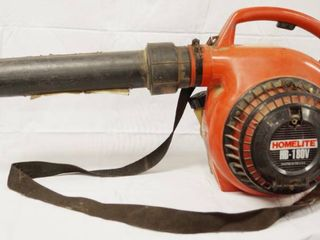 Homelite HB 180V Blower 150 mph  08010F  See Video   Pictures