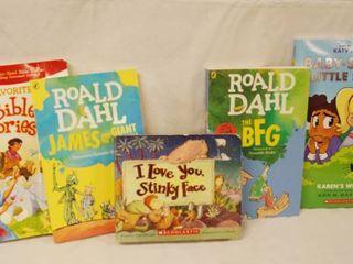 lot of 5 Kids Books