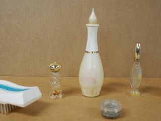 Vintage AVON Collectible Perfume   Cologne Bottles   Avon Brush