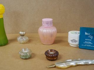 Vintage AVON Collectible Perfume Bottles   a Mary Kay Pocket Mirror