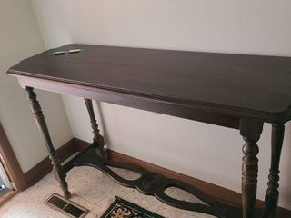 Abernathy Furniture Co Wooden sofa table 48 x 16