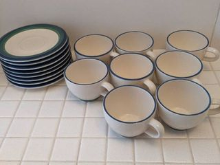 Pfaltzgraft 8pc cups and saucers