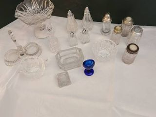 Assortment of glassware