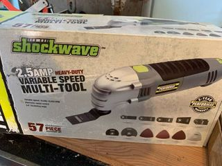 Shockwave variable speed multi tool