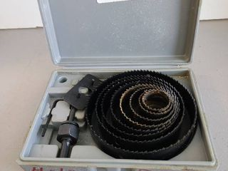 large hole saws kit