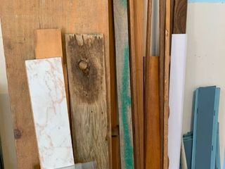 Assorted scrap lumber