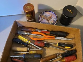 Tools and tins