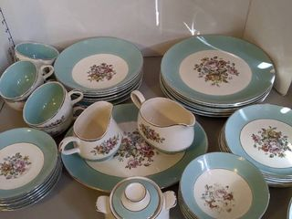 6 piece China set