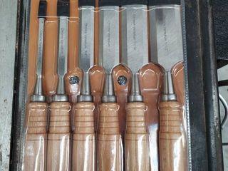 6pc  Wood Chisel Set  1 4  1 2  3 4  1  1 1 4    1 1 2