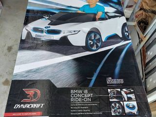 6 Volt Battery Authentic BMW i8 Concept Ride On Toy Car with working lED Headlights