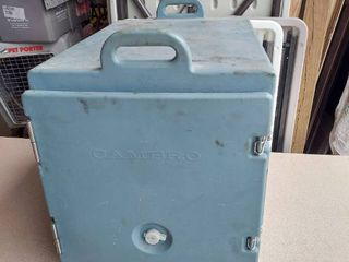 Cambro Transport Container with SS Steam Table Inserts