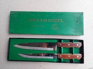 Maxam Steel Cutlery Set