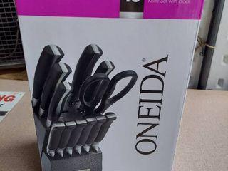 Oneida 13pc Knife Block Set