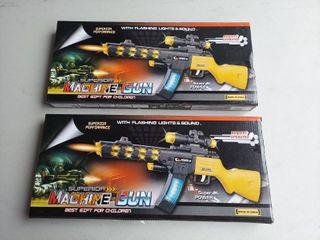 2  Machine Gun Toys