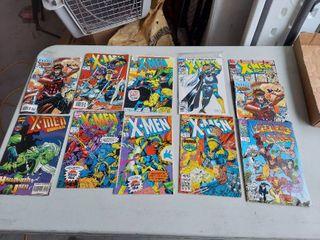 11 X Men Comic Books