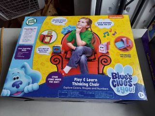 leapfrog Blues Clues And You Play And learn Thinking Chair
