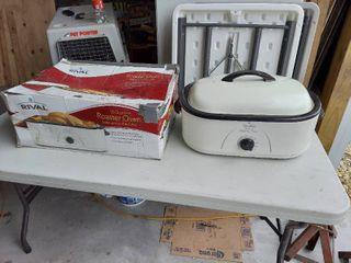 Rival RO180 18 Quart Roaster Oven  White