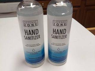 2  12 Fl Oz Bottles Hand Sanitizer