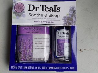 Dr Teals Soothe and Sleep