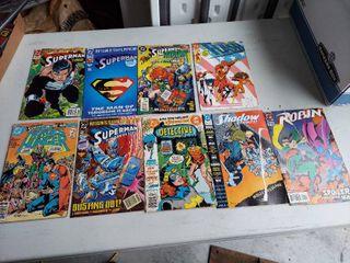 9 DC Comic Books